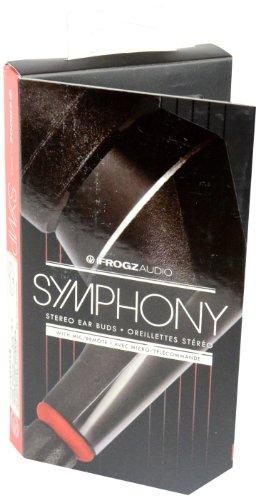 Ifrogz Symphony Red In-Ear Headphones With Inline Microphone (If-Sym-Red)