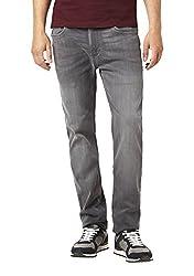 Celio Men's Slim Fit Jeans (3596654124577_COULTREY1GRIS_96_Grey)