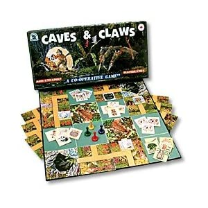 Cooperative Game of Jungle Suspense Danger and Teamwork, Caves and Claws