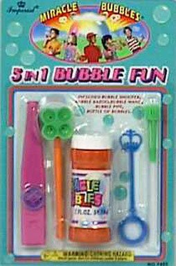 5-in-1 Bubble Set