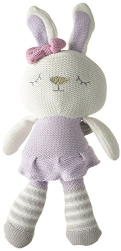 Living Textiles Violet Bunny Plush Toy - 1