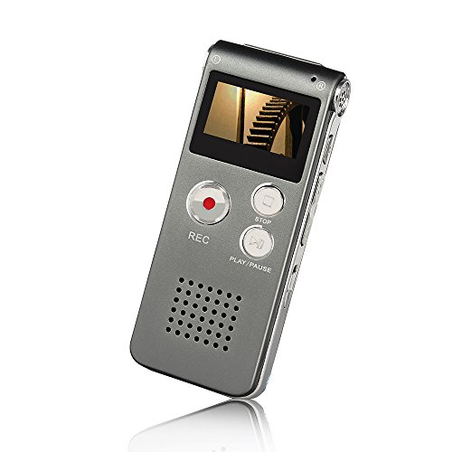 Btopllc-Digital-Voice-Recorder-MP3-Player-Digital-Audio-Voice-Recorder-Rechargeable-Dictaphone-with-Mini-USB-Port-Support-A-B-RepeatRecording-Telephone-Conversations-Meetings-Interviews-Grey