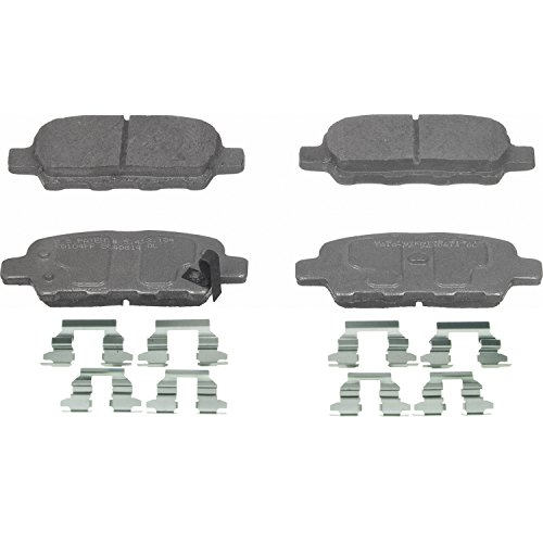 Wagner ThermoQuiet PD905 Ceramic Disc Pad Set With Installation Hardware, Rear (Nissan Murano Rear Brake Pads compare prices)