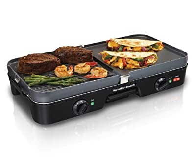 Hamilton Beach 38546 Electric Grill-1 Sq. ft.-Indoor-by HAMILTON BEACH from Hamilton Beach