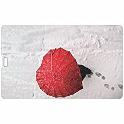 Umberella Credit Card 8GB Pen Drive