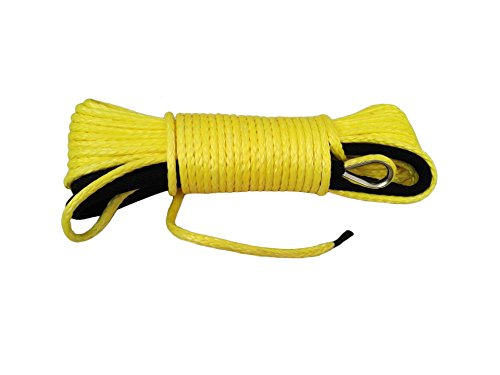 Yellow-31650ft-ATV-Synthetic-Winch-Rope-atv-winch-cable-steel