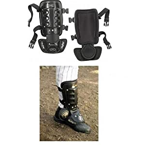 Buy Baseball Softball Batter's Hitting Leg Guard. Protects Leg Ankle Against Foul Balls by Rawlings Authentic Sports Shop