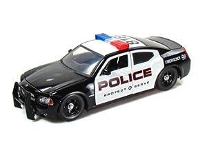 2006 Dodge Charger Police 1:24 Diecast Car Model Jada by Jada