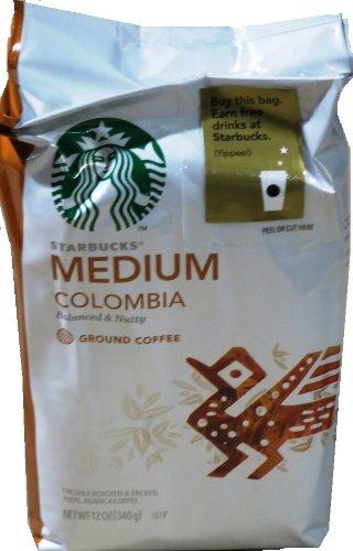 Starbucks Columbian Ground Coffee, 12 oz