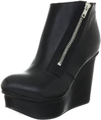 Diesel Women's Blairey Ankle Boot,Black,5 M US