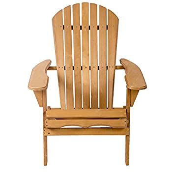 Outdoor Wood Adirondack Chair Garden Furniture Lawn Patio Deck Seat 2000