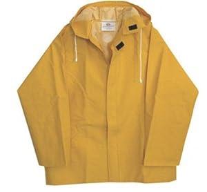 Boss Yellow Rain Jacket - Medium, Model# 3PR0500YM