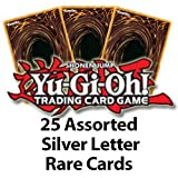 25 Assorted Silver Letter Rares Yu Gi Oh!