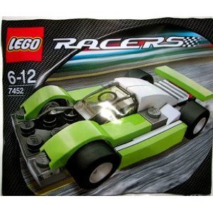 LEGO Racers: Le Mans Sports Car (Green) Set 7452 (Bagged)