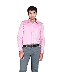 GIVO Classic Onion Pink Solid Formal Shirt