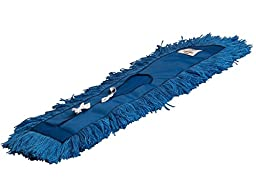 Fuller Commercial Products 24124 Workstar Dry Mop Head, Blue Synthetic, 24/5\