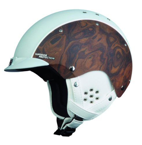 Skihelm Casco SP 3 Edelholz Copper white