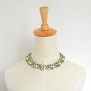 Chain Colorful Statement Choker - Great Quality
