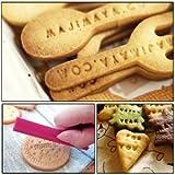 TribalSensation® 68 pcs Alphabet, Number, Letter Biscuit Fondant Cake/Cookie Stamp Impress Embosser cutter - Mold Set