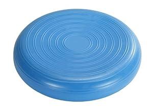 Trendy Sport Bamusta Coxim Gymnastikkissen, Sitzkissen, Rückenkissen glatt mit Kreisen, Ø 36 cm, blau