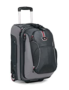 High Sierra AT605-235 AT605 Carryon On Wheeled Backpack with Removable Day Pack (Greystone/Shadow/Black)