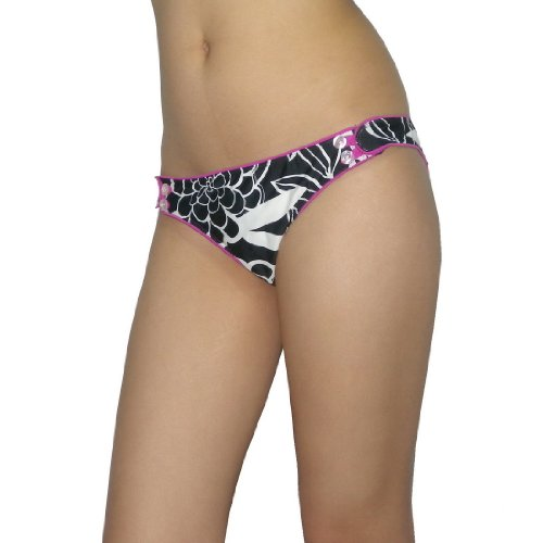 Body Glove Womens Soft & Smooth Surf Swim Bikini Trunks / Bottom - Quick Dry
