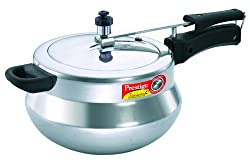 Prestige Nakshatra Plus Induction Base Aluminium Pressure Handi, 5 Litres