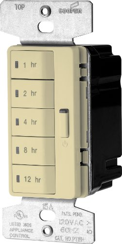 eaton-pt18h-v-k-accell-5-button-single-pole-hour-timer-lighting-control-with-automatic-off-1800-watt