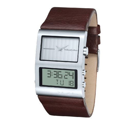 Black Dice Men's BD036-02 Duo Analog-Digital Fashion Watch