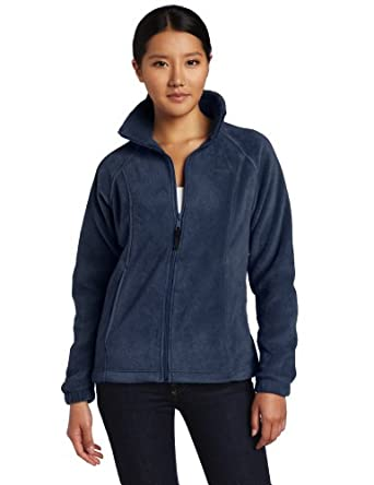 Columbia Women's Benton Springs Full Zip, Columbia Navy, Medium