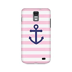 Mobicture Pink Anchor Premium Printed Case For Samsung S2 I9100/9108