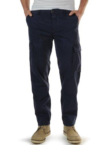 Peuterey Trousers (UK: 38 / EU: 48, navy)
