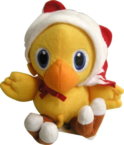 Square Enix Final Fantasy White Mage Chocobo Plush Toy Doll image