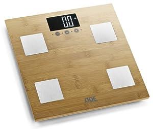 ADE BA 914 Barbara Körperanalysewaage (Tragkraft 150 kg), Holz