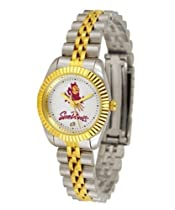 Arizona State Sun Devils ASU NCAA Womens 23Kt Gold Watch