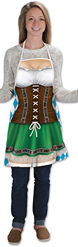 [Oktoberfest Fraulein Apron] (Oktoberfest Costumes Party City)