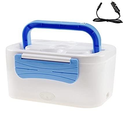 New-Car-Plug-Heated-Lunch-Box-12-V-Electric-Heating-Lunchbox-Food-Warmer-Car-Truck-Stove-Oven-Blue
