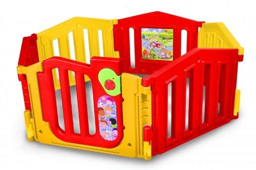 parc de bebe xxl barri re de s curit modulable 3. Black Bedroom Furniture Sets. Home Design Ideas