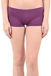 Mynte Women's Sport Shorts Purple MECLWIWP-SHR-103