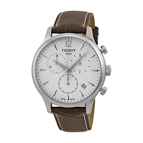 tissot-mens-t0636171603700-stainless-steel-tradition-watch-with-textured-leather-band