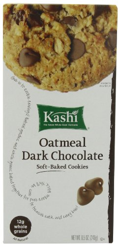 Kashi TLC Cookies, Oatmeal Dark Chocolate, 8.5-Ounce Boxes (Pack of 3)