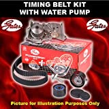 Cam Timing Belt Kit & Water Pump, Peugeot 307 03>07 1.4 Petrol Opt2/2