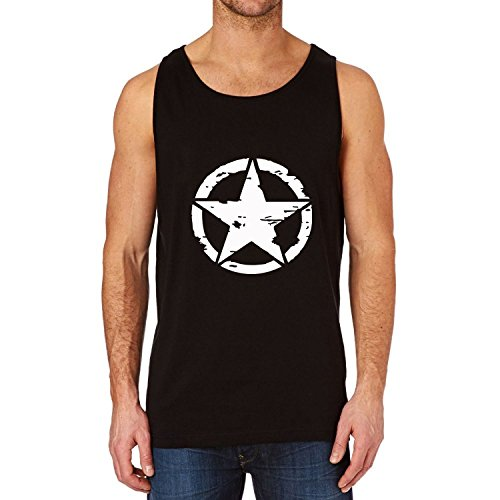 Mens Jeep Military Star Tank Top