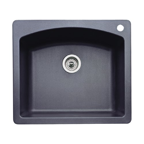 Anthracite Kitchen Sink : ... -In or Undermount Granite Kitchen Sink, Anthracite, Sinks & Faucets