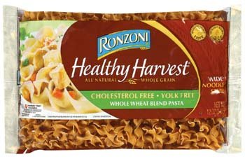 Ronzoni Healthy Harvest Wide Noodle Style Whole Wheat Blend Pasta 12 oz