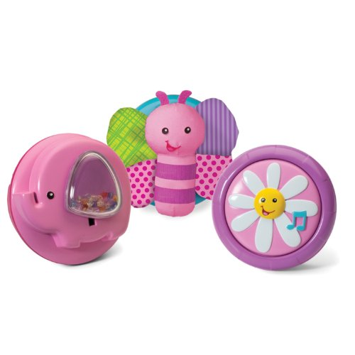 Infantino Pop & Play 3 Count Activity Pods, Girl