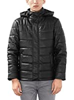 ESPRIT Chaqueta 106ee2g048 - Regular Fit (Negro)