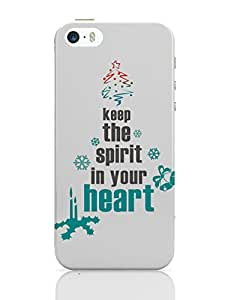 PosterGuy iPhone 5 / 5S Case Cover - Happy Holidays holidays, festive, festival, christmas, christmas tree, christmas spirit, festive spirit, holiday sp