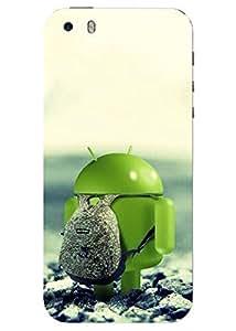 Spygen Premium Quality Designer Printed 3D Lightweight Slim Matte Finish Hard Case Back Cover For Apple Iphone 5/5S