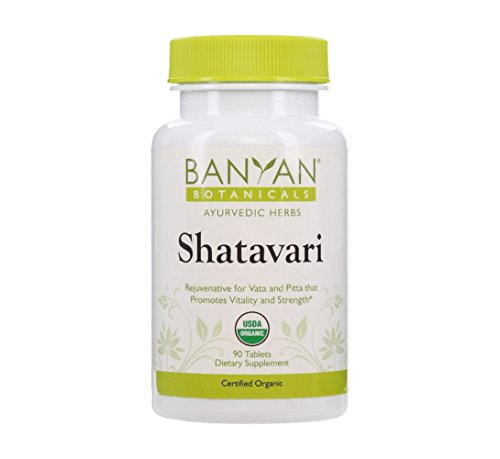 Banyan-Botanicals-Shatavari-Tablets-USDA-Organic-90-ct-Asparagus-Racemosus-Rejuvenative-for-Vata-and-Pitta-that-Promotes-Vitality-and-Strength